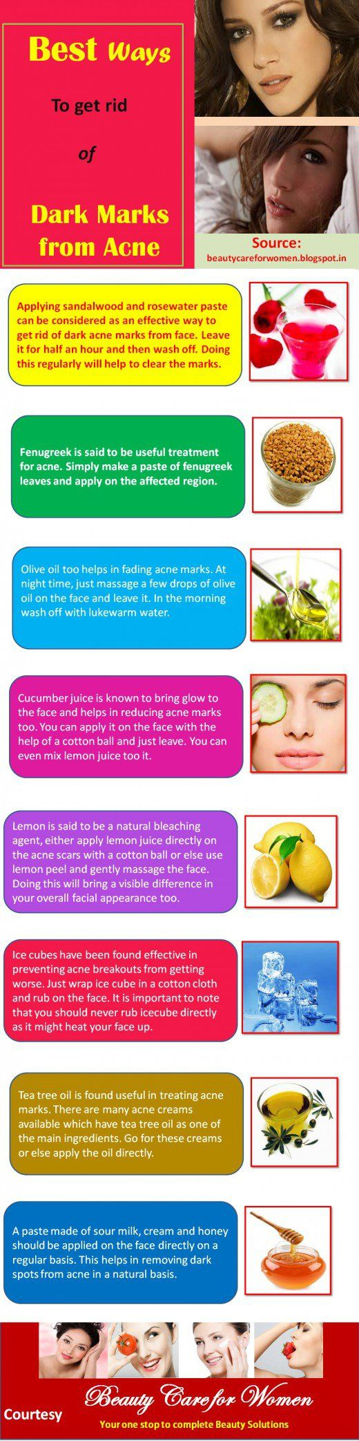 Clear Forehead Acne With Home remedies