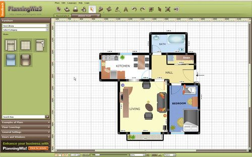 Planningwiz Free Interior Design Software Kitchen Pinterest