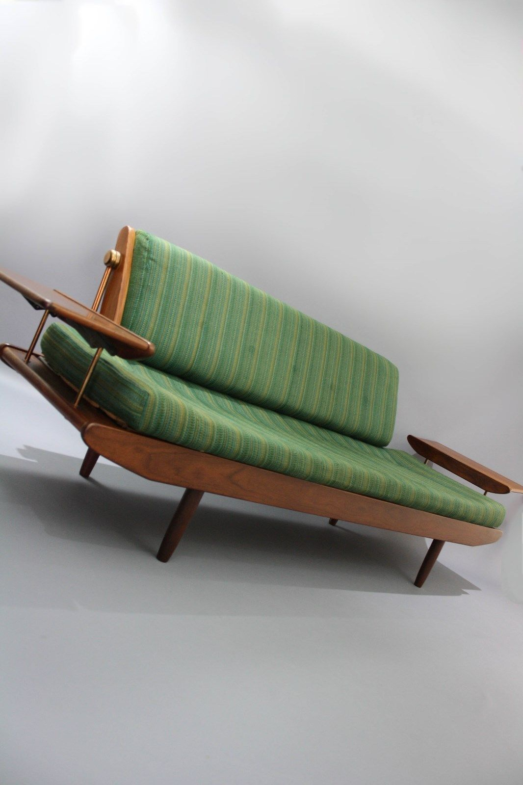MID Century Toothill UK HEALS Teak Sofa DAY BED Retro Vintage Lounge Couch  Danish ERA in. MID Century Toothill UK HEALS Teak Sofa DAY BED Retro Vintage