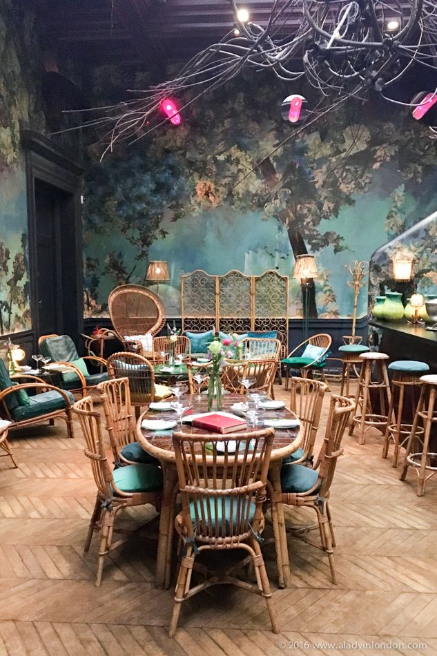 Afternoon Tea In The Glade At Sketch London More