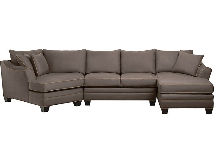 Best Dillon Mineral 3 Piece Left Arm Facing Cuddler Sectional 400 x 300