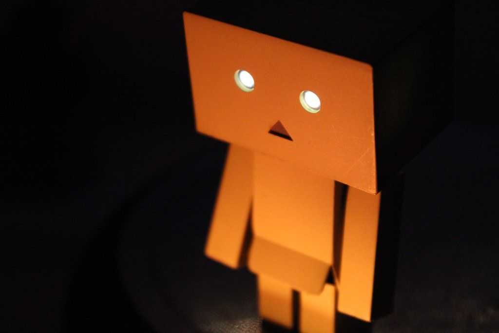 Danbo watching fire #danboard