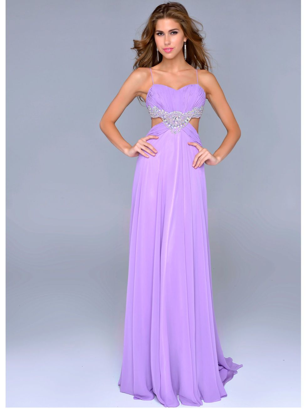 purple prom dresses with straps | 30 Best Purple Prom Dresses 2016 ...