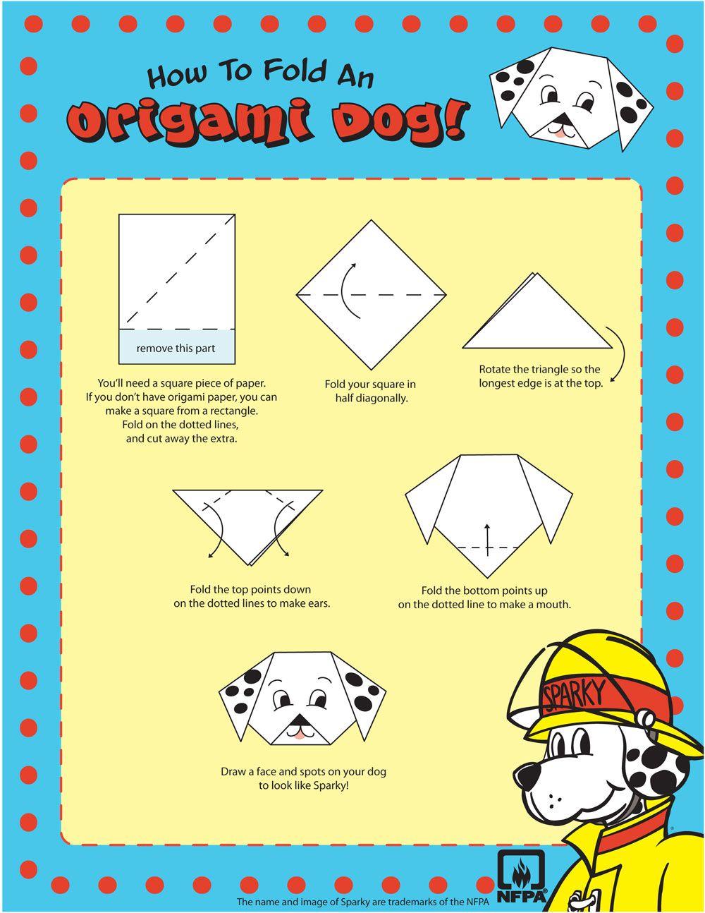 Origami Dog | Sparky.org