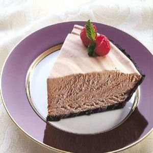 Heavenly Chocolate Mousse Pie Recipe Delicious Pies Chocolate Mousse Pie Sweet Tarts