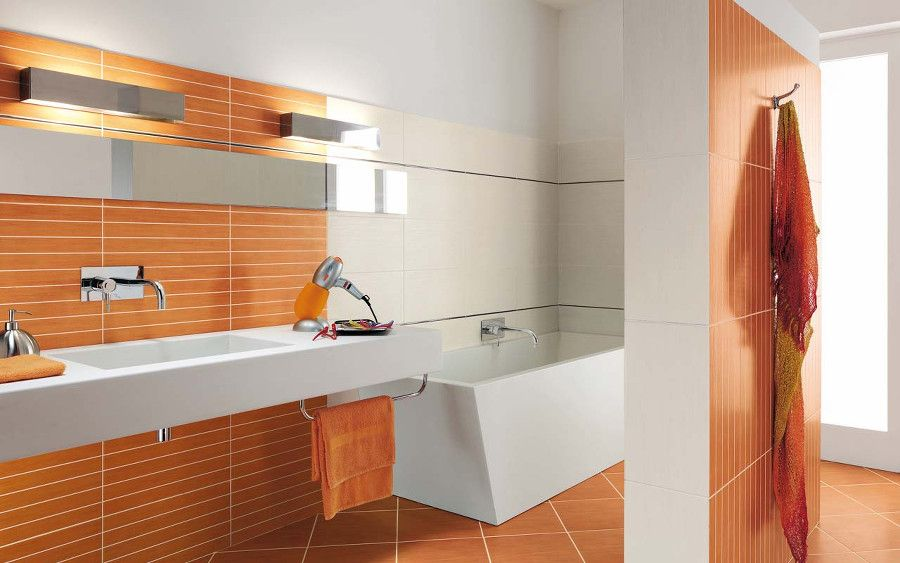 Ideas for floor and wall coverings in the bathroom