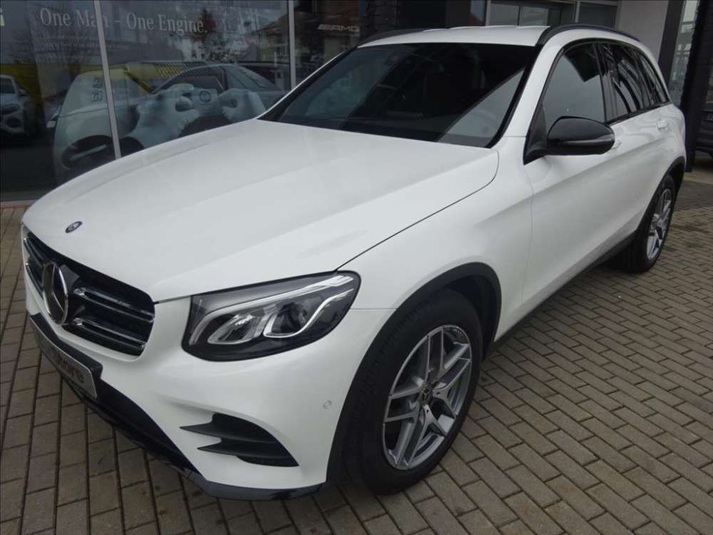 2017 Mercedes Benz Glc 220 D 4matic Amg White Color Tags 2017