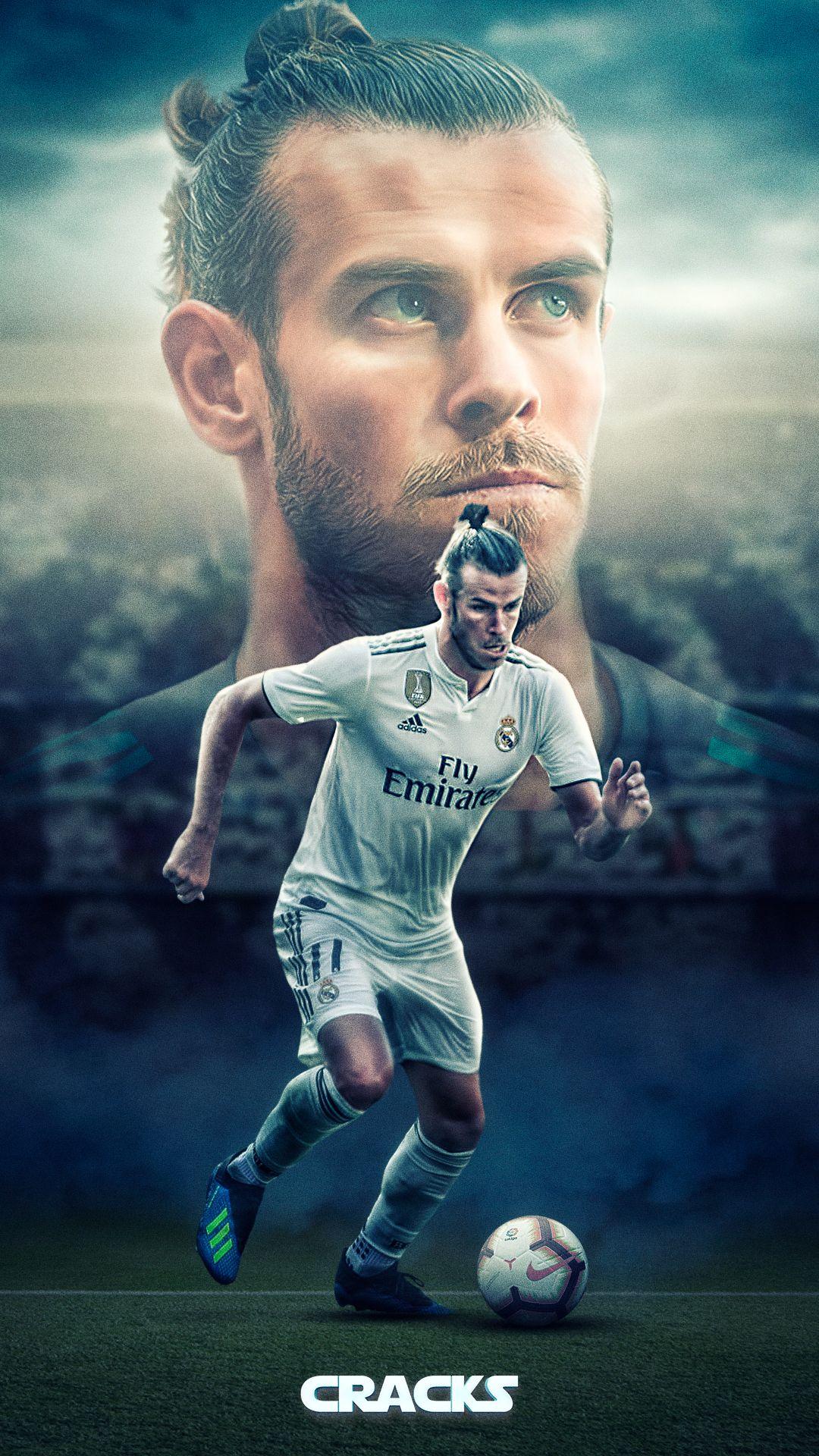 Gareth Bale Football Realmadrid Bale Wales Tottenham Art Fotos De Futbol Imagenes De Futbol Poster De Futbol