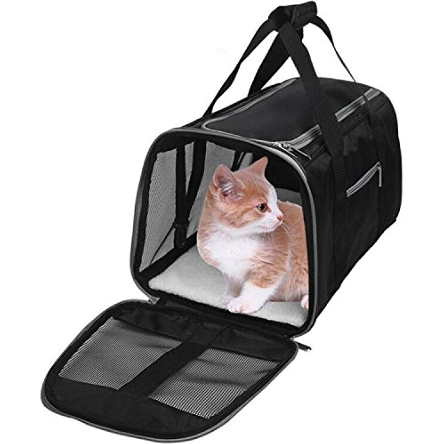 Wopet Deluxe Airline Approved Pet Carrier Dog Carrier And Cat Carrier Fits U Airline Approved Pet Carrier Dogs Airline Approved Pet Carrier Leather Dog Carrier