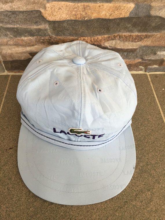 9db00c14a Vintage Lacoste Cap Lacoste Baseball Cap Lacoste Sport Hat Cap ...
