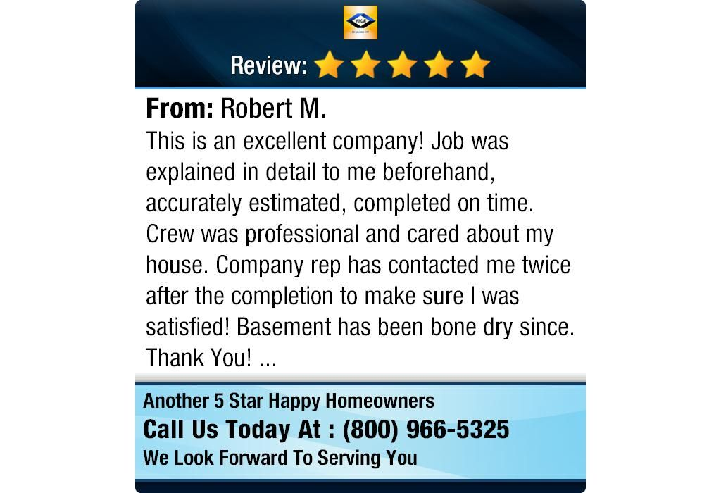 This is an excellent company! Job was explained in detail