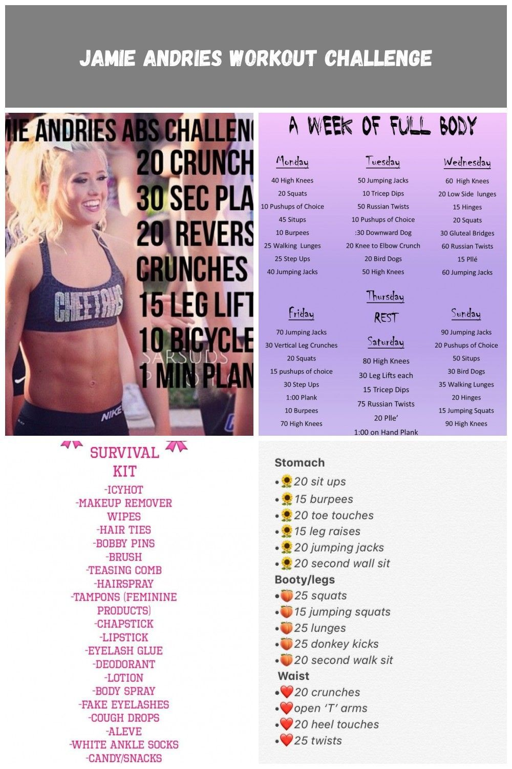 Jamie Andries Workout Challenge #Health #Fitness #Trusper #Tip cheer Workouts Jamie Andries Workout Challenge #cheerworkouts Jamie Andries Workout Challenge #Health #Fitness #Trusper #Tip cheer Workouts Jamie Andries Workout Challenge #cheerworkouts