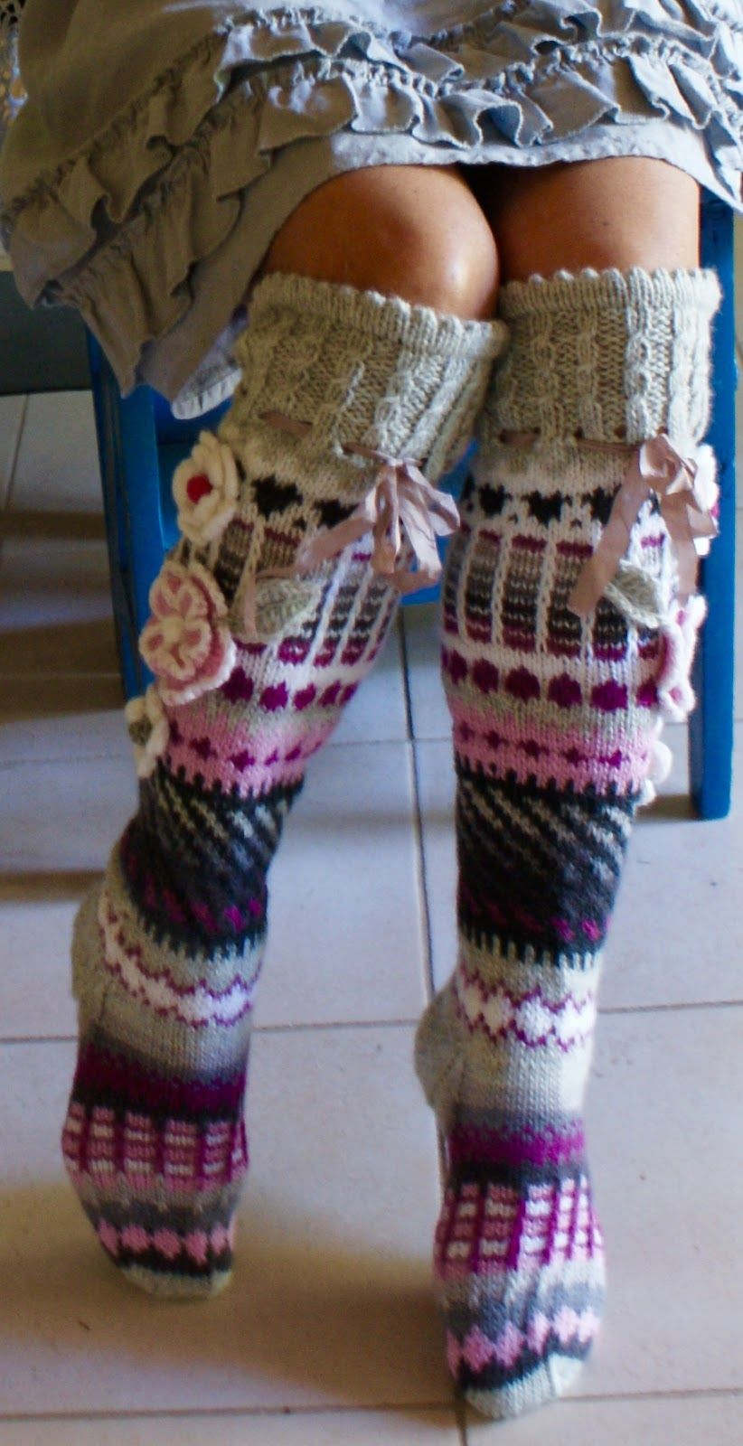 Ankortit she makes the most beautiful socks | DIY Fashion ...
