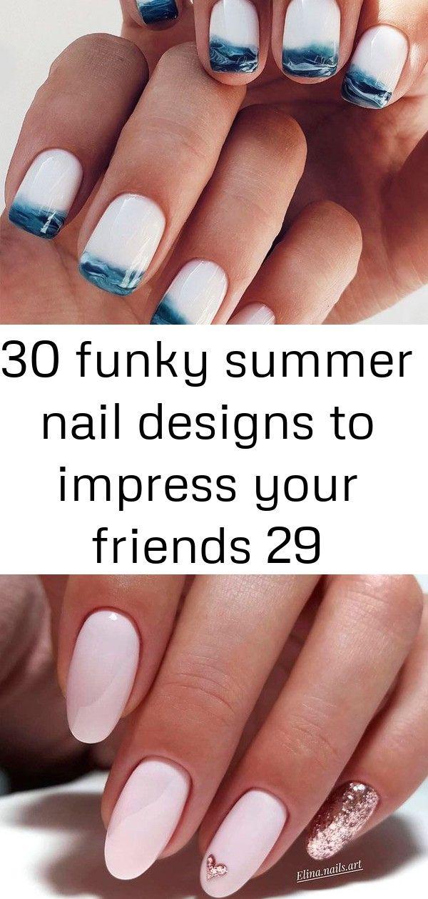 30 funky zomerse nagelontwerpen om indruk te maken op je vrienden 29
