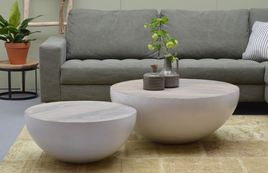 couchtisch john bowl o 70 auswahl 1 x couchtisch justin bowl o 70 material