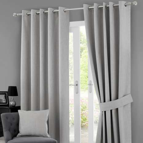 Grey Solar Blackout Eyelet Curtains Patio Pinterest Solar Lounge Ideas And Room