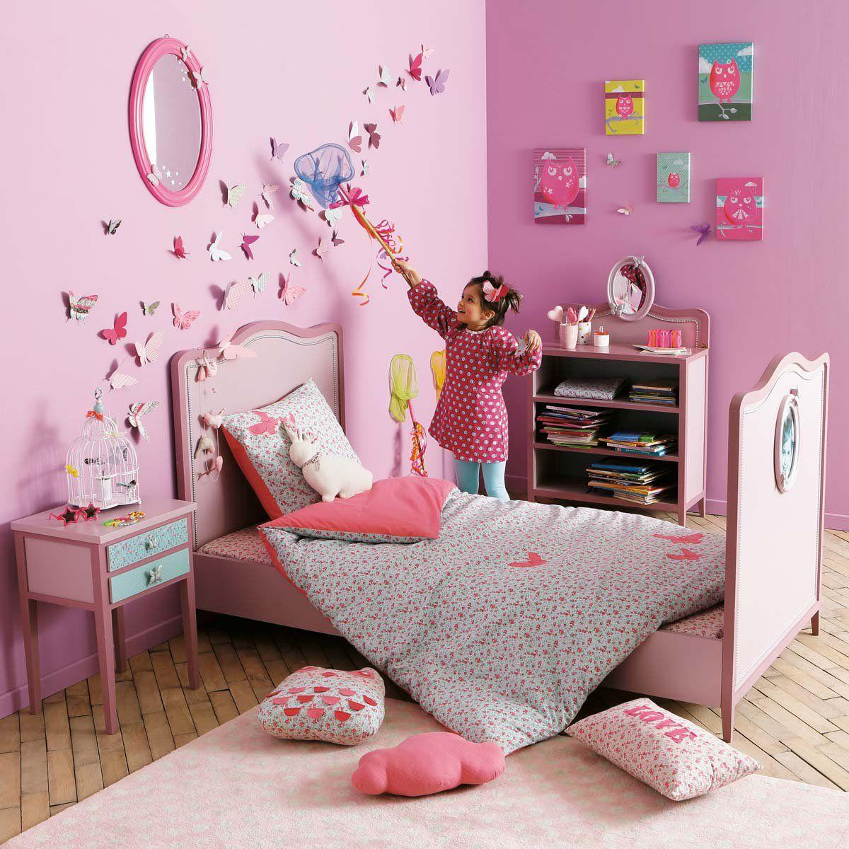 Miroir Enfant Poetik Idees Chambre Chambre Enfant Papillon En Papier