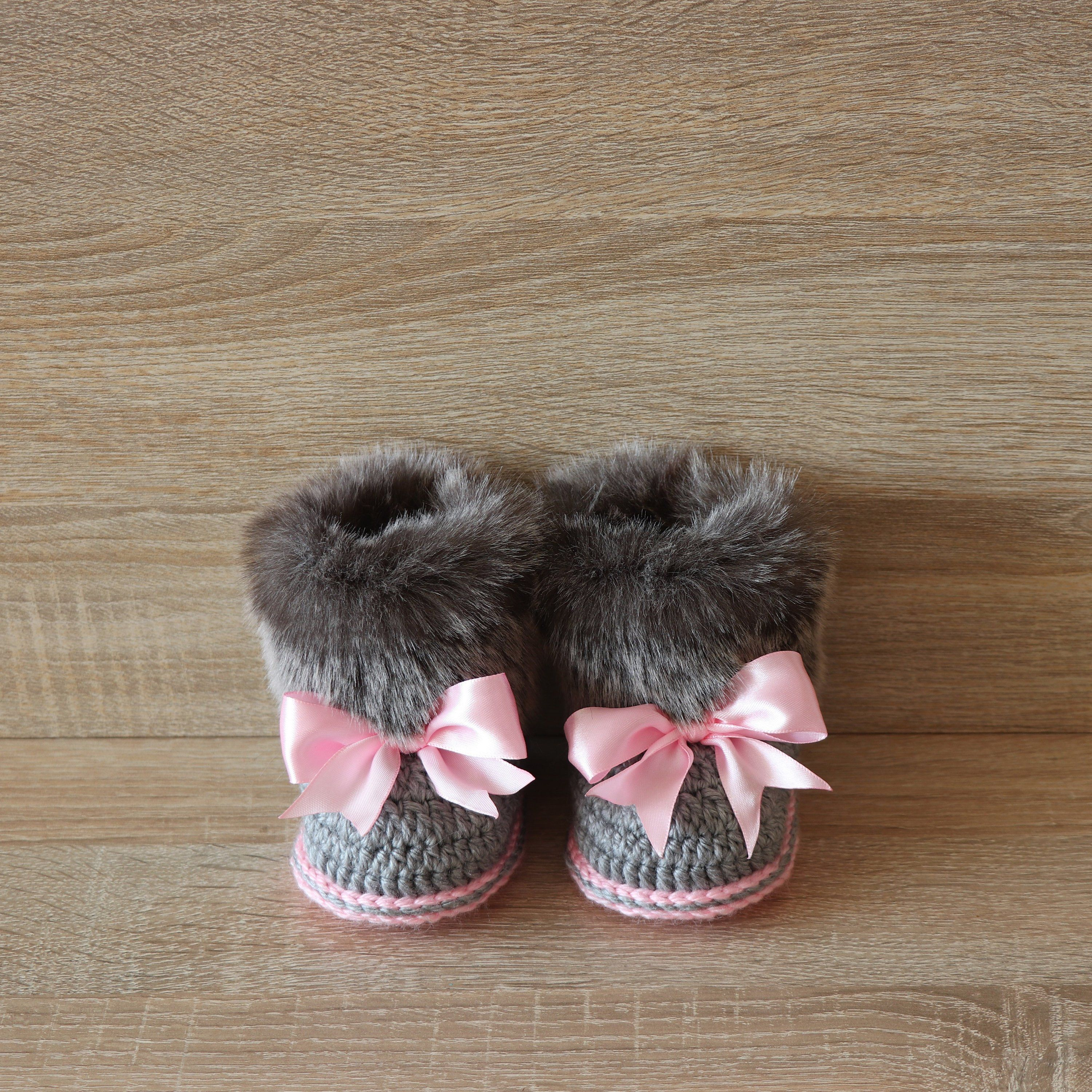 Pin on Baby booties
