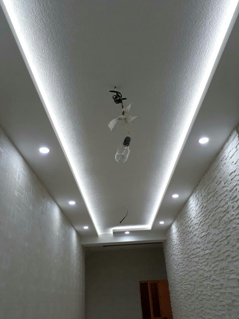 Pin by Mangin on Ceiling of plasterboard  Bedroom false ceiling