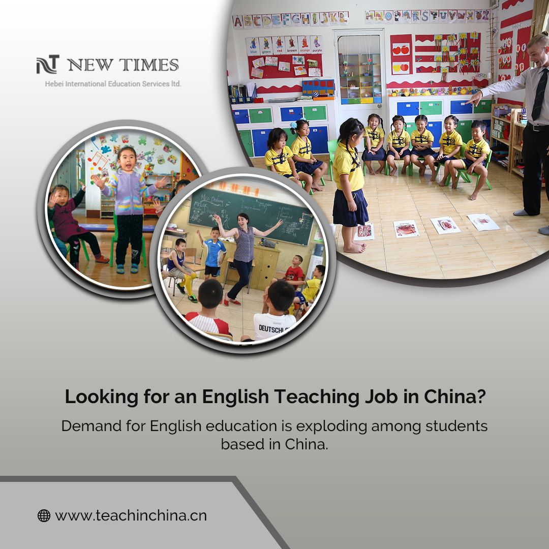 Looking for an English Teaching Job in China? Demand for