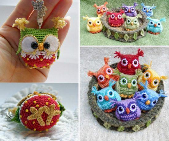 Amigurumi Pattern Free Owl : Crochet baby owls pattern free video tutorial great ideas owl