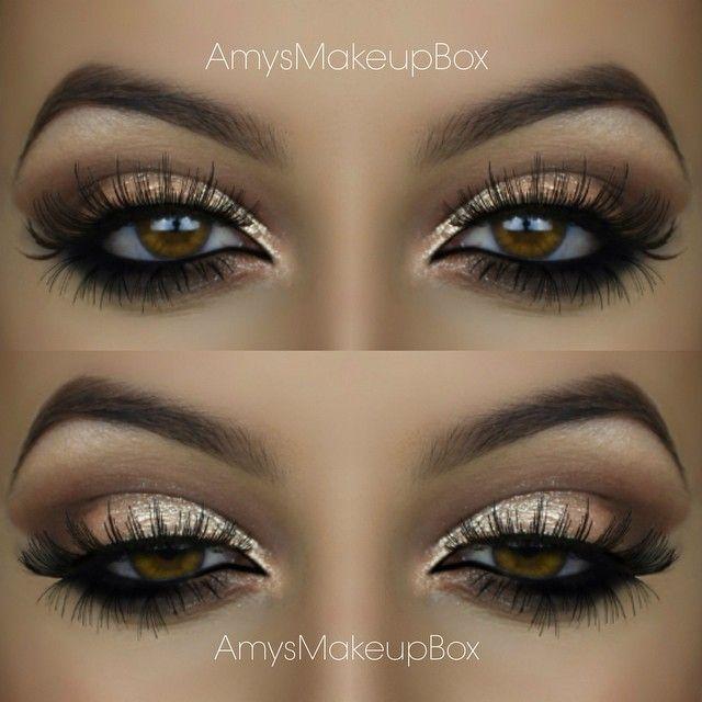 Gold Eyeshadow For Hazel Eyes Capas Pinterest Gold Eyeshadow