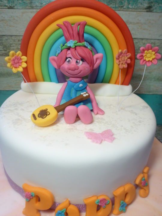 Gateau princesse poppy