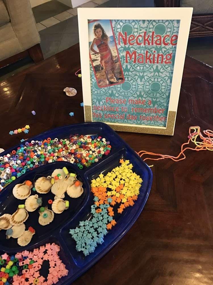 Alexa's Moana 5th Birthday party