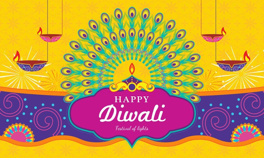 Happy Deepavali 2020 Wallpaper in 2020 Happy diwali
