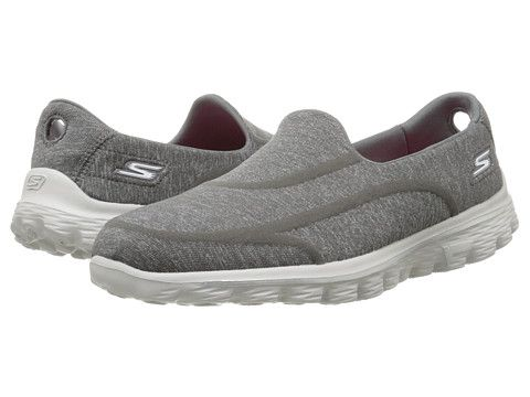 Skechers Performance Go Walk 2 - Super Sock 2 Skechers- Charcoal sneakers
