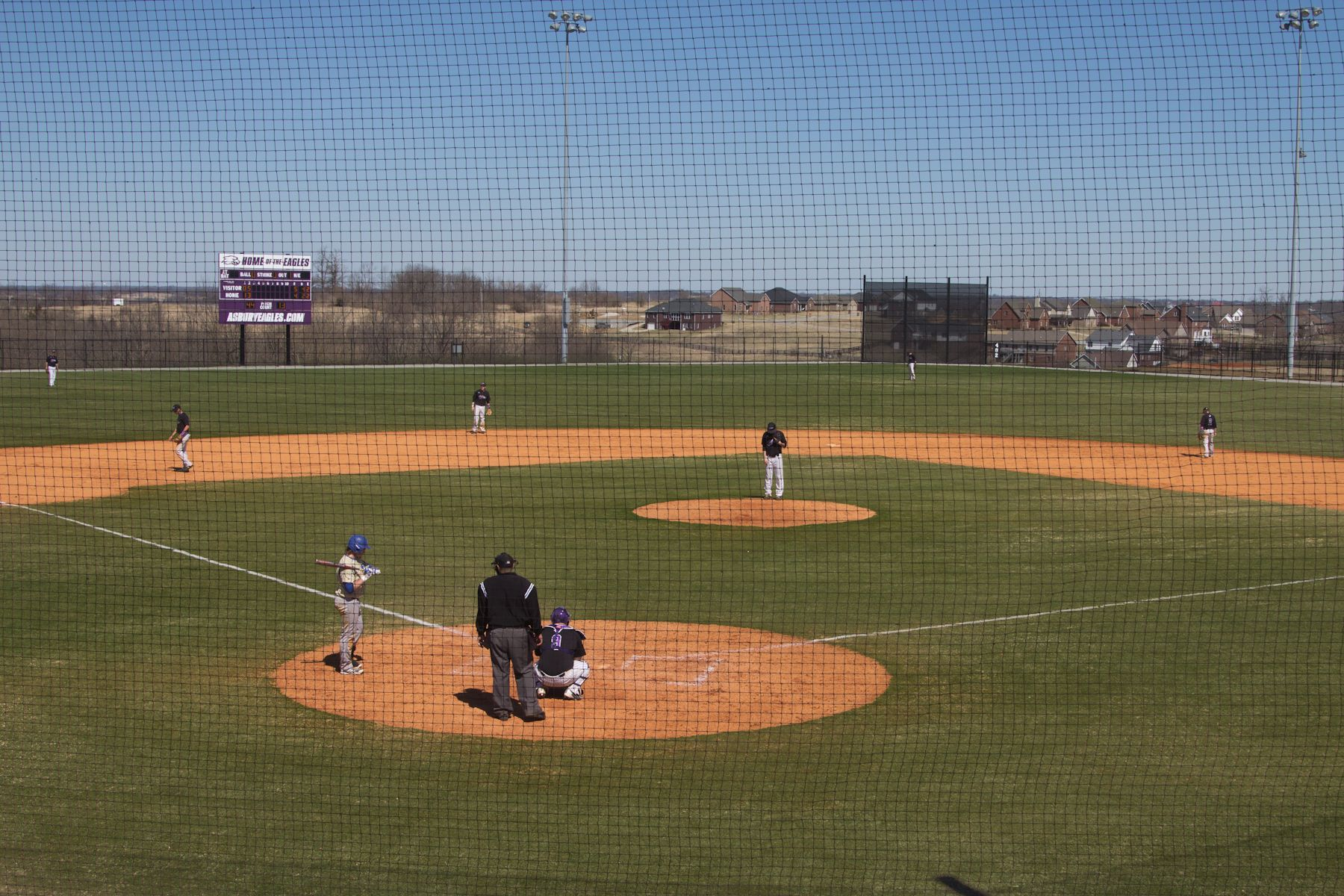 Asbury University Asbury Dedicates Renovated Baseball Softball Facility Baseball Softball Baseball College Baseball
