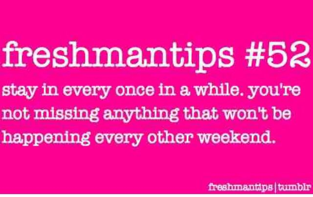 Freshmen Tips School Pinterest College Freshman Tips And