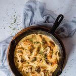 Keto Creamy Chicken and Mushroom Casserole #creamychickencasserole