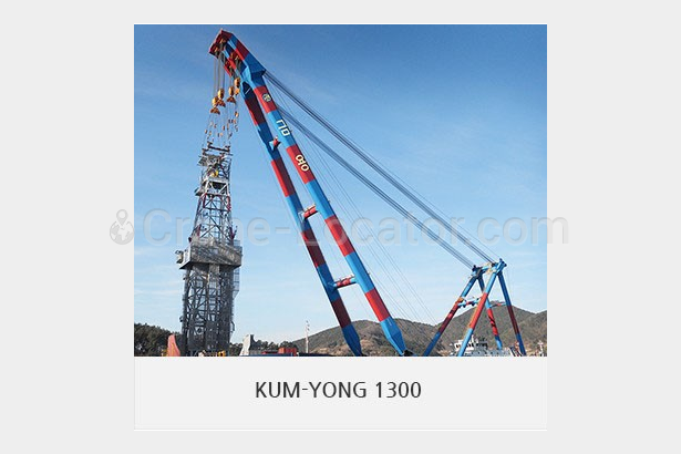 Floating crane Floating crane BSS-110063 for RENT =Crane-Locator=