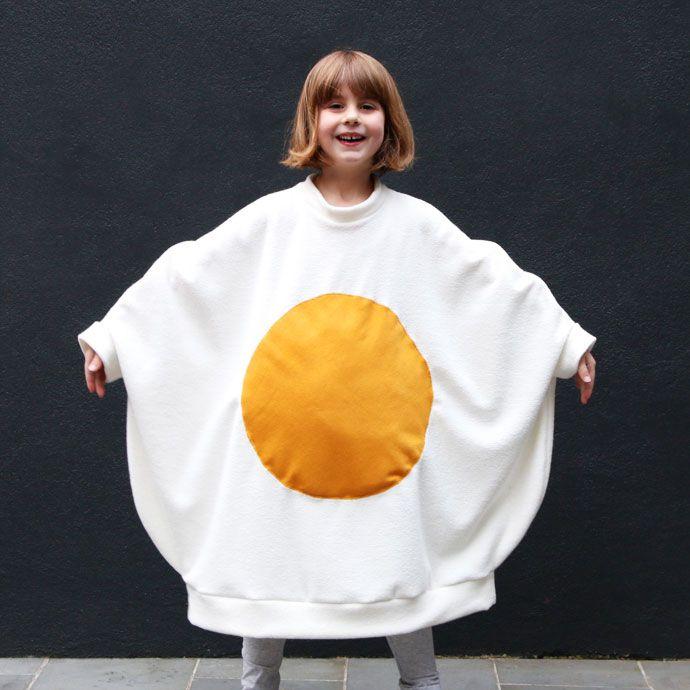 Egg-cellent Fried Egg Costume | My Poppet Makes