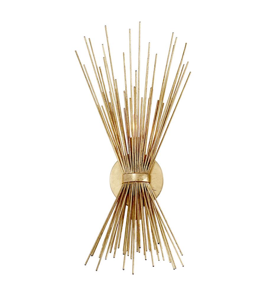 the best attitude 764a7 281ea Brass Starburst Logan Wall Sconce by World Market   lighting ...