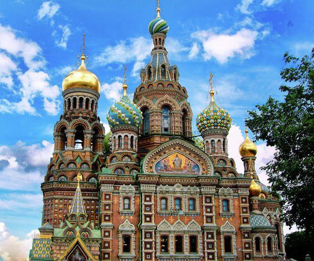 مدونة سياحة وسفر مواضيع مختارة من اجمل بلدان العالم Russia Travel Cathedral Church St Petersburg