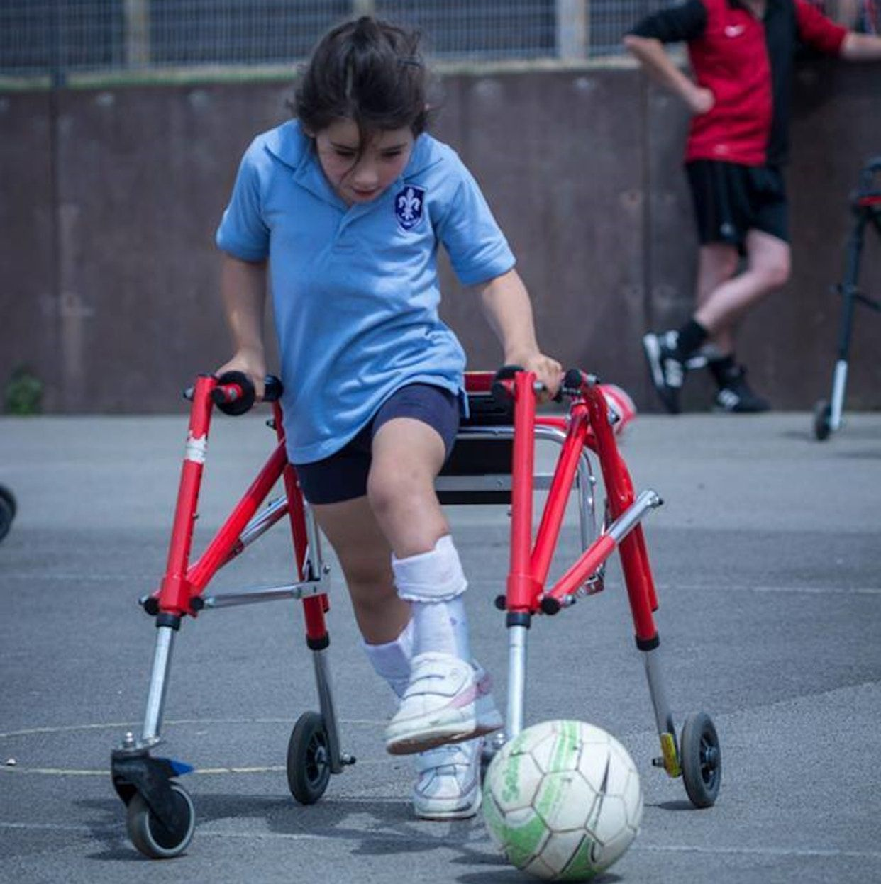 There's a new sport for kids with mobility issues, and it