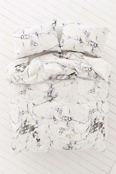 Home accessory  white marble bedding marble bedroom bedding  8ead7e1c31