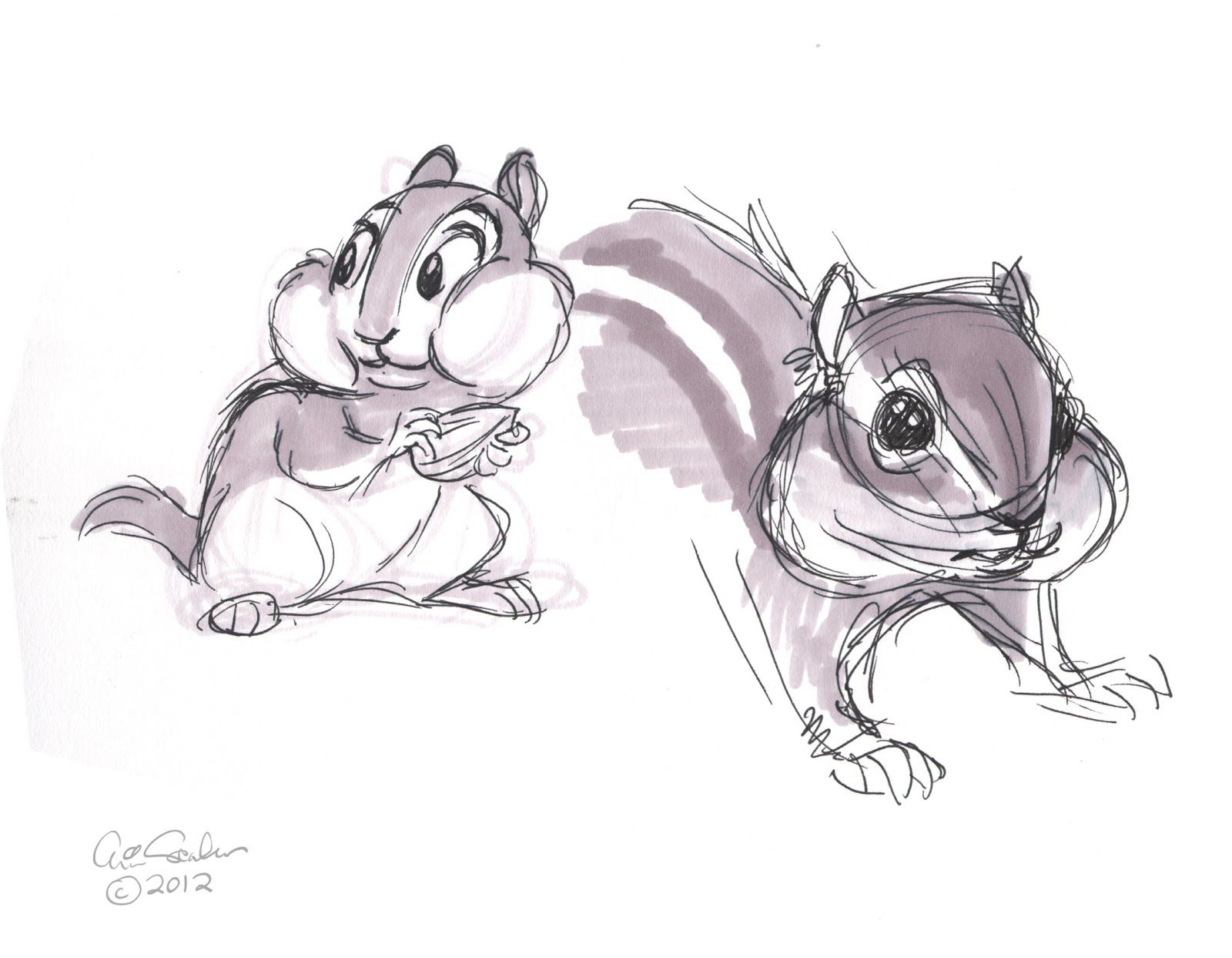 Cute Chipmunk I Might Get A Tattoo Of This Little Guymy Gpa Called Me
