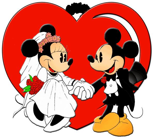 Mickey & Minnie wedding sweethearts | Mickey Magic | Pinterest ...