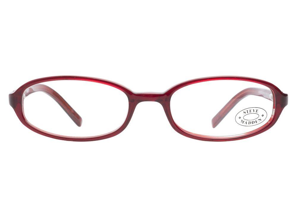 Steve Madden 69 BUR Burgundy eyeglasses. Get low prices, superior ...