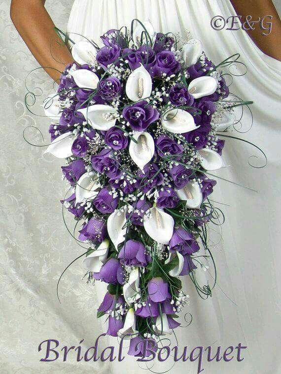 Beautiful Waterfall Bouquet Wedding Bouquets Wedding