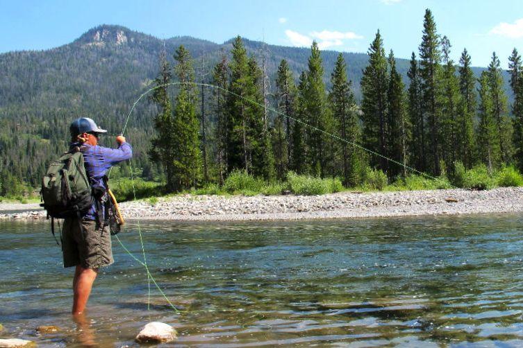 Buffalo Fork Fly Fishing Jackson Hole Wyoming Trout Wyoming Vacation Fishing Places Fly Fishing