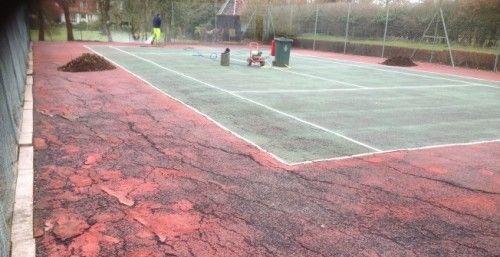 Muga Sports Court Repairs In Banks Repairing Sports Surfaces In 2020 Sport Court Sports Court