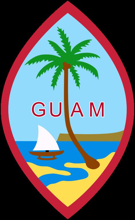 Brasao De Armas De Guam Coat Of Arms Of Guam La Enciclopedia Libre Escudo Criada