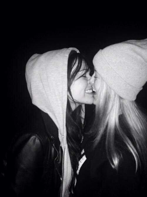 Lesbian kiss tumblr