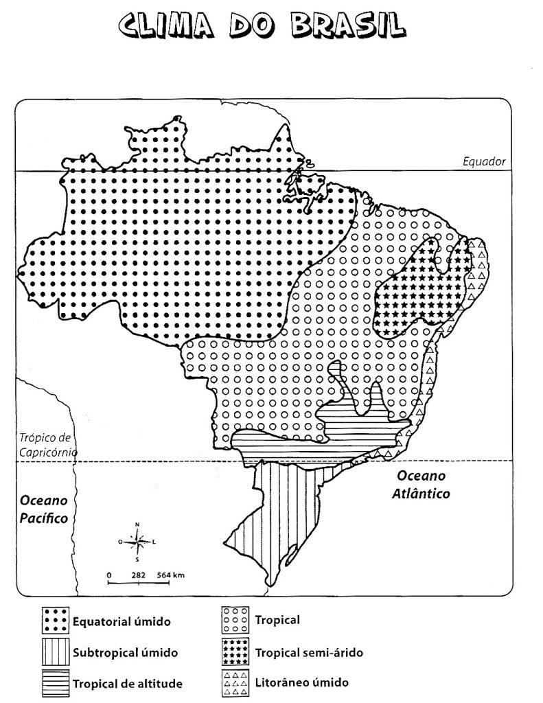 30 Mapas Do Brasil Para Colorir E Imprimir Politico Capitais