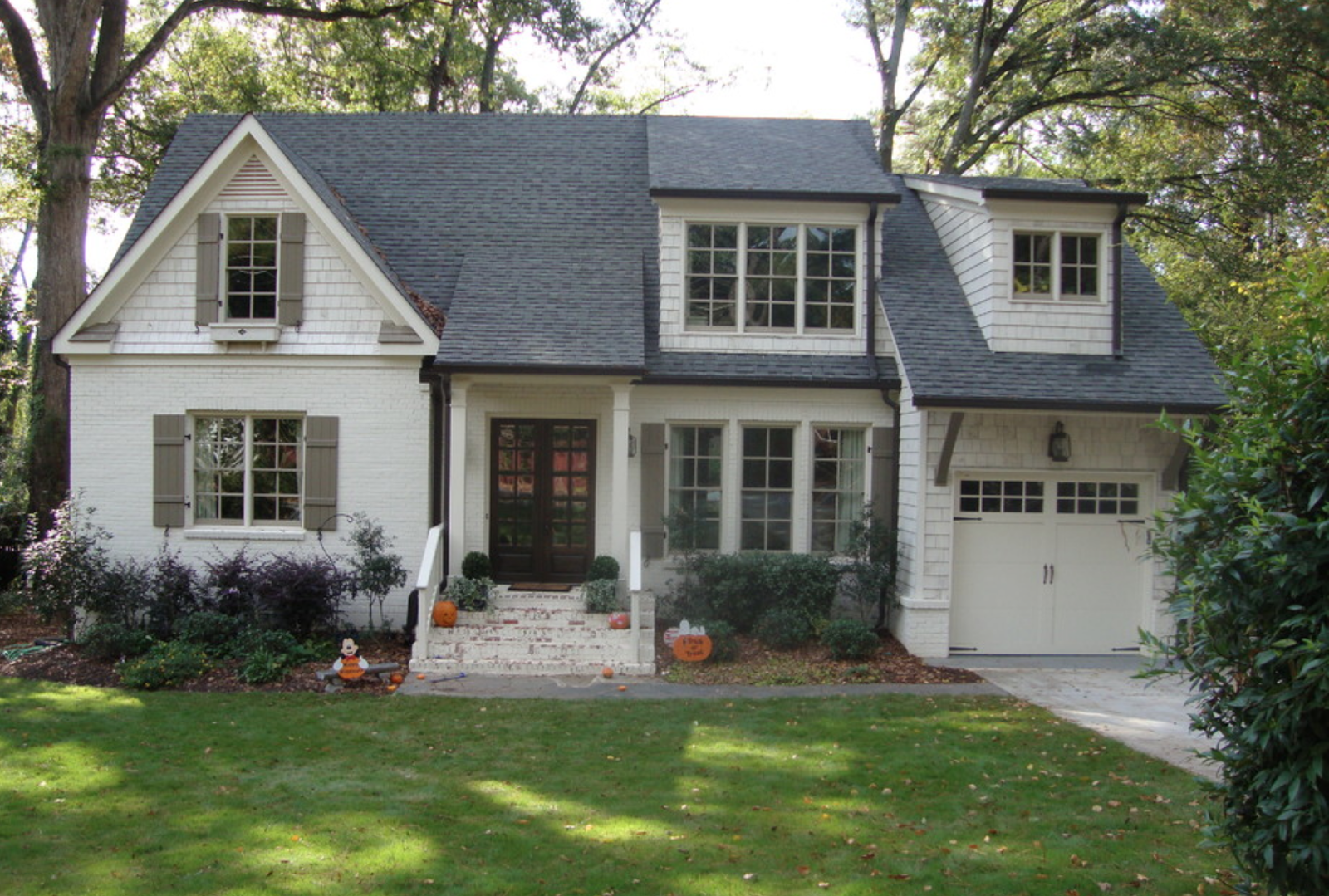 Ranch Renovation Ranch House Remodel House Exterior Exterior House Colors