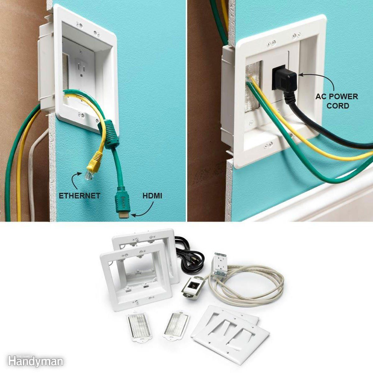 15 Cool Tech Gadgets That Turn Your Home Into A Smart House Hide Tv Wires Smart Home Hide Tv Cords